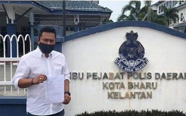 Pemuda keadilan Kelantan buat laporan polis terhadap Muhyiddin