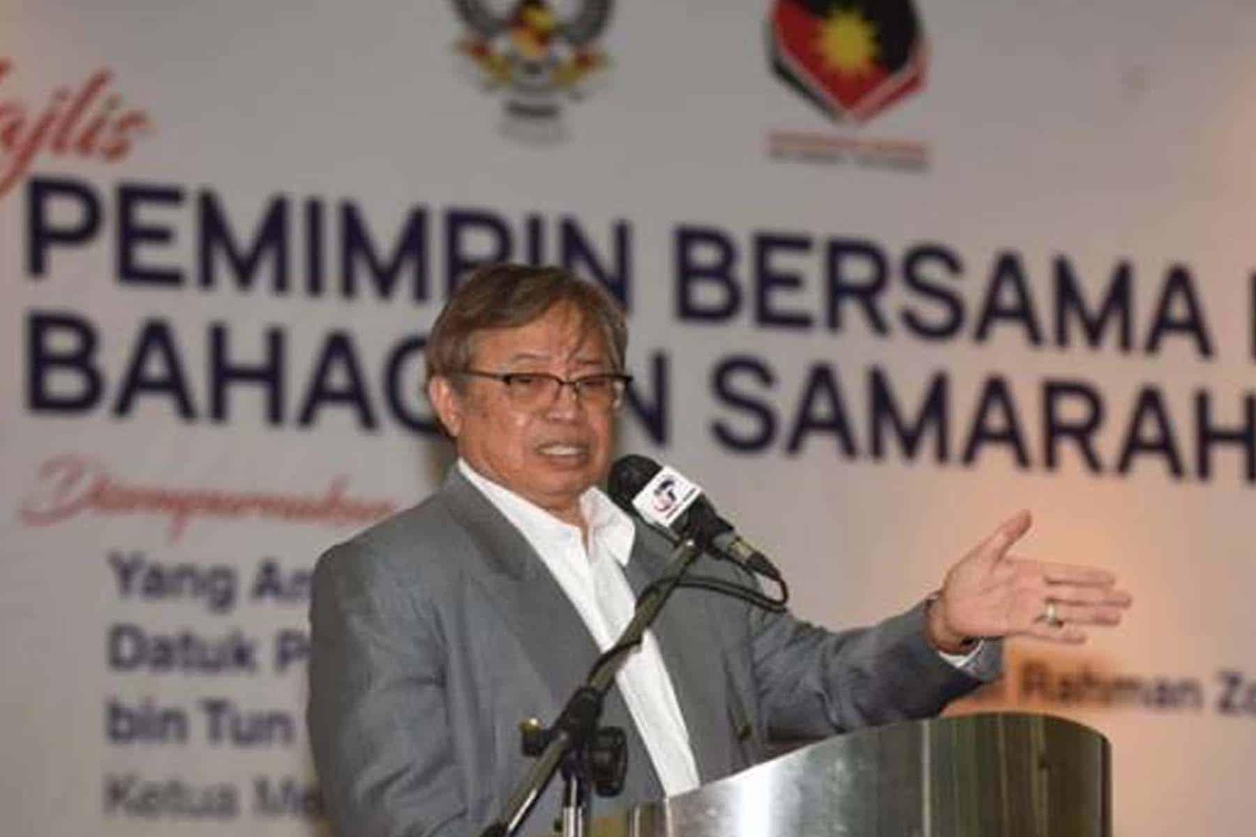 PRN ke-12 Sarawak tidak dapat dielakkan kerana tempoh matang