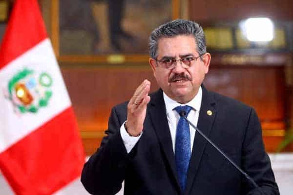 5 hari sandang jawatan,Presiden Peru undur diri