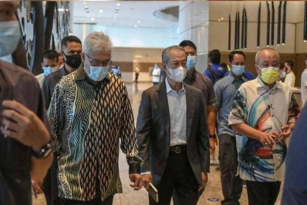 Terkini !! Pemimpin PN mula berkumpul untuk mesyuarat di Hilton KL