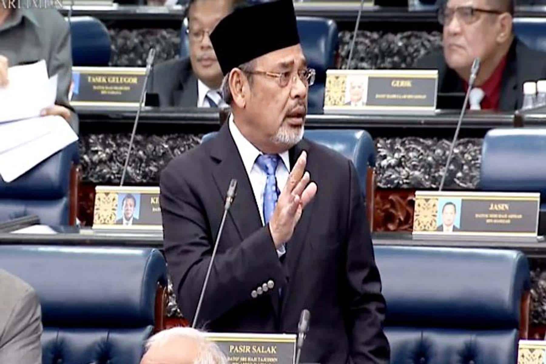 Tajuddin tidak puas hati jawapan Timbalan Menteri Luar Bandar