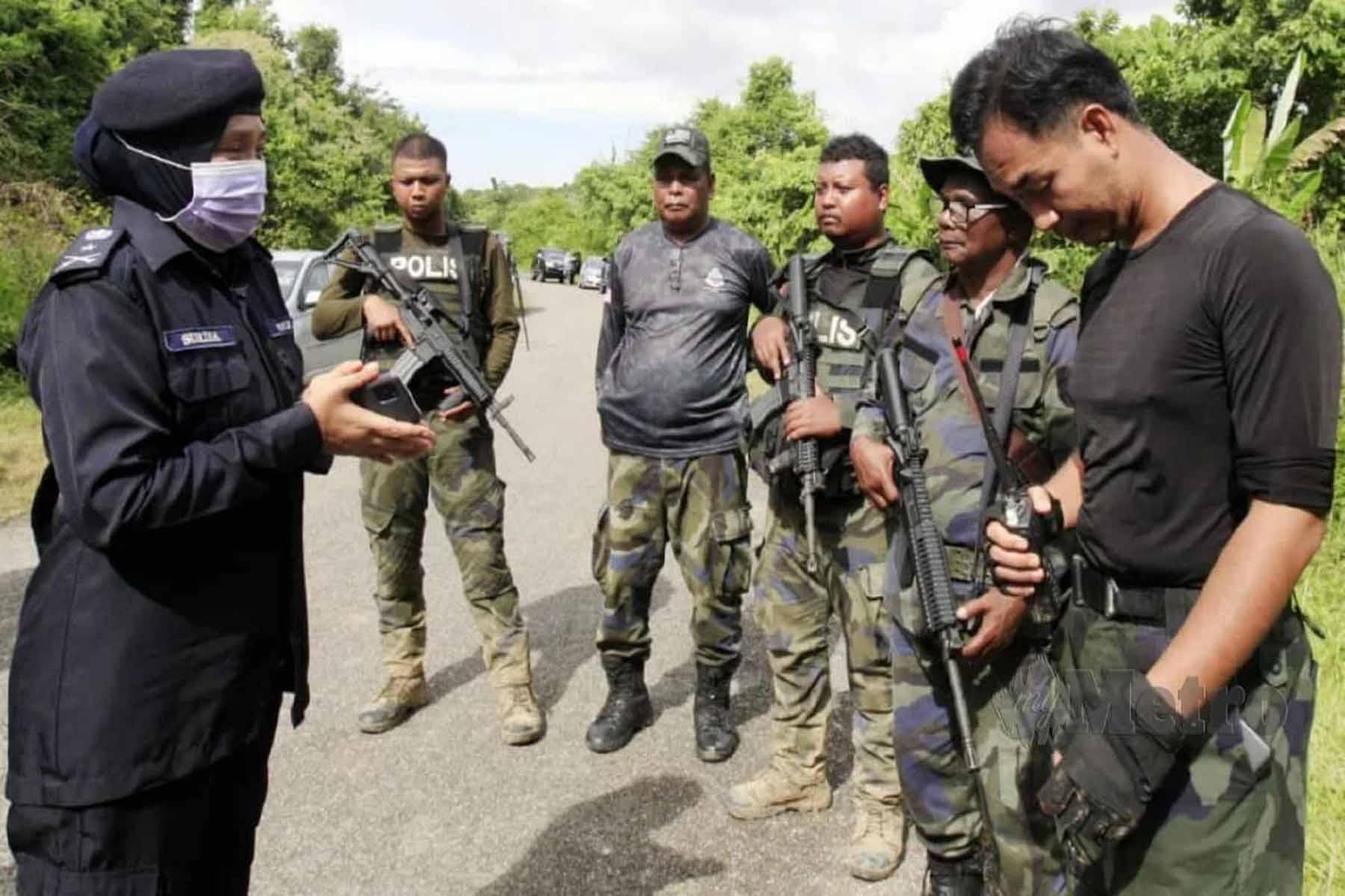 Koperal Baharuddin Meninggal ,2 das tembakan di perut dan dada