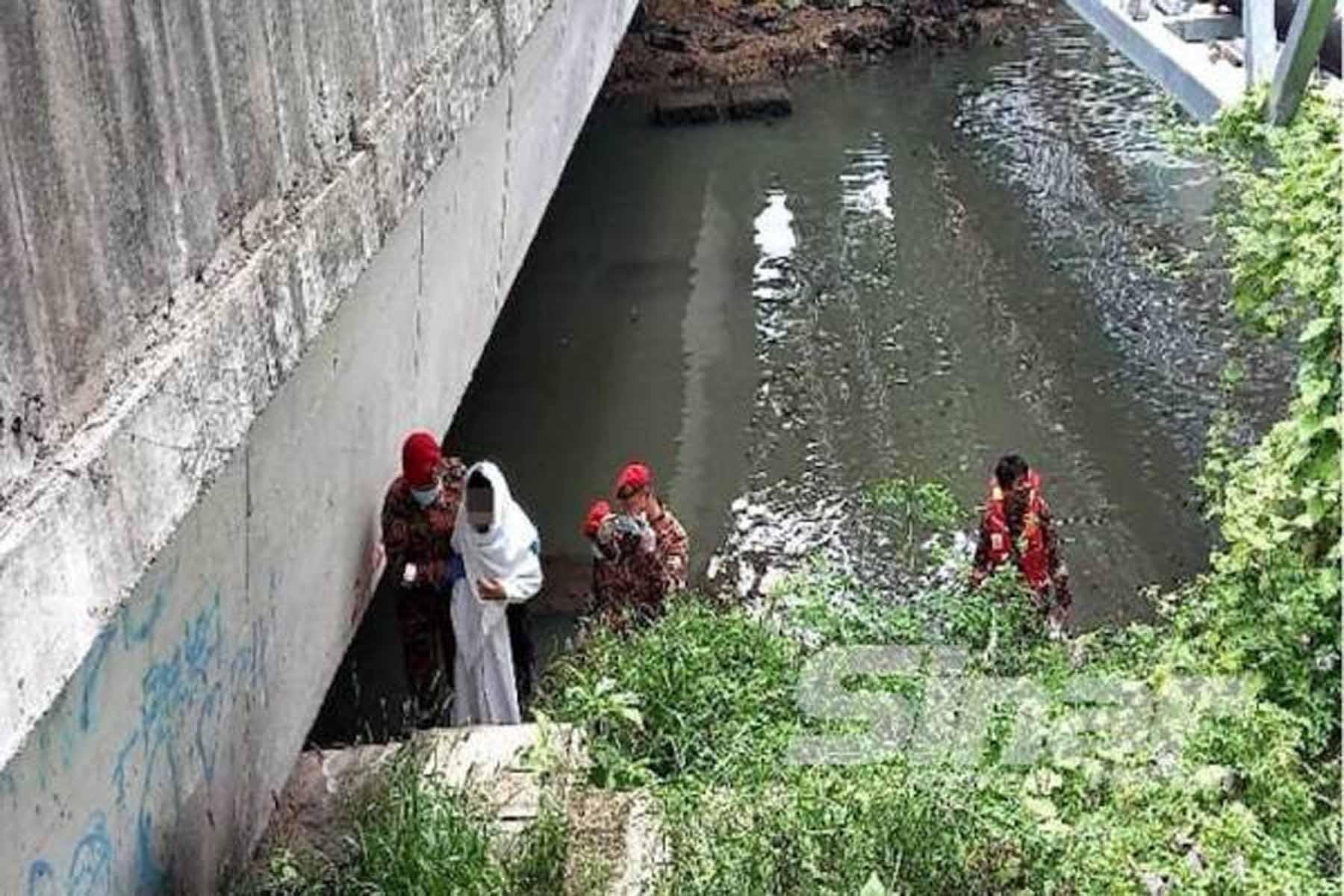 Gadis nekad terjun sungai kerana tertekan
