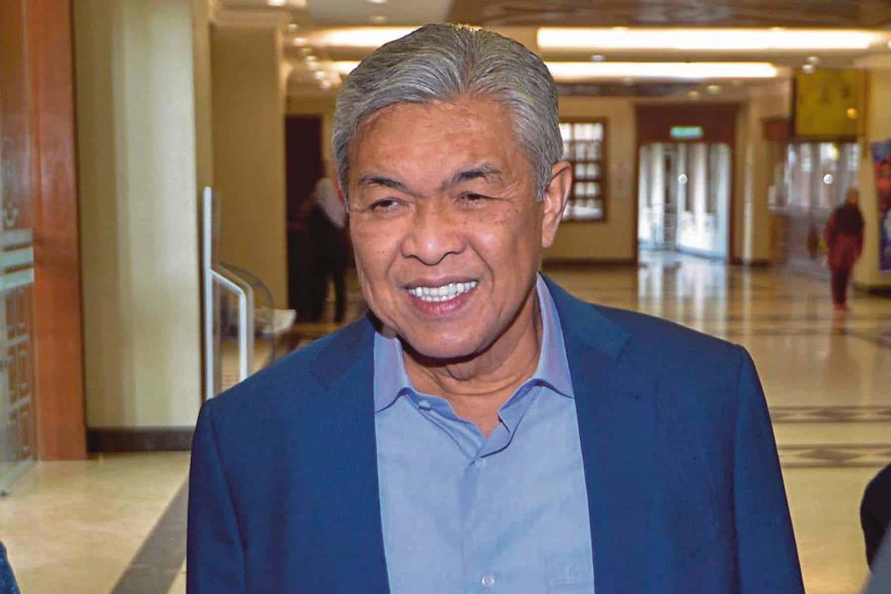 Ahli Parlimen BN setuju sokong Belanjawan 2021 bersyarat – zahid