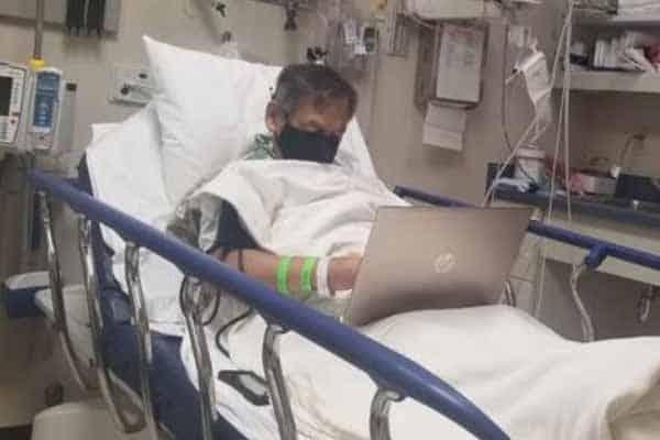 Atas katil hospital pun guru ini masih sibuk siapkan kerja sebelum meninggal dunia