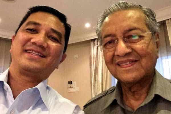 Gempar !!! Pemimpin Umno pula dakwa Mahathir arah Azmin tubuh PN untuk 'hijack' MN