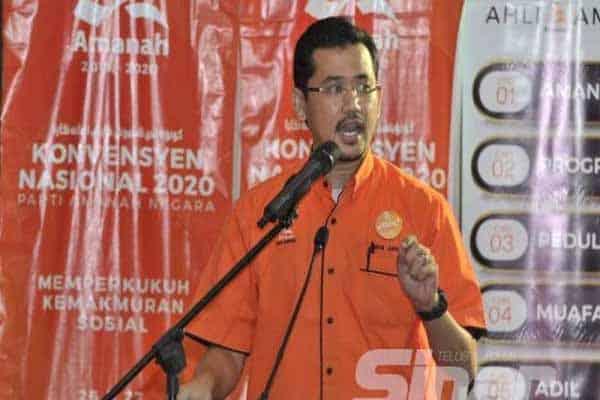 Amanah cabar Muafakat Nasional, PN kemuka calon MB Selangor