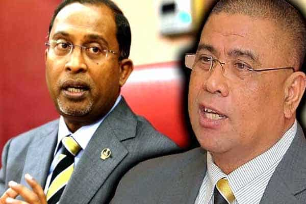 Panas!!! 2 nama bersaing sebagai MB Perak baru