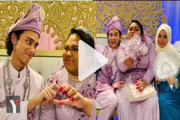 [VIDEO] Tahniah Cik B Sah 'Bergelar Isteri', Netizen Lega Akhirnya Dua Hati Kini Bersatu