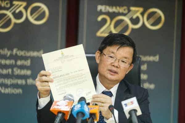 Hangat!!! Isu Mercedes: Warganet puji Ketua Menteri Pulau Pinang