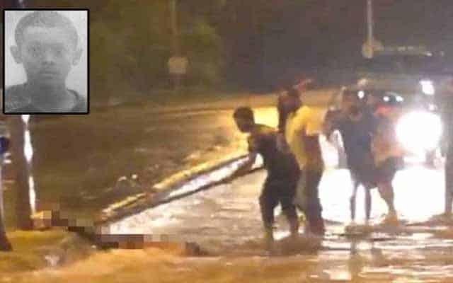 Maut terkena renjatan elektrik ketika harung banjir