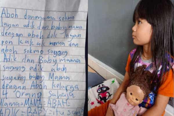 Ibu Sebak Baca Surat Luahan Hati Anak