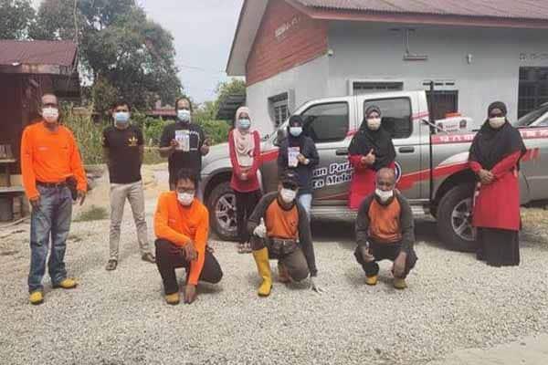 ARiF Negeri Melaka teruskan menyantuni penduduk