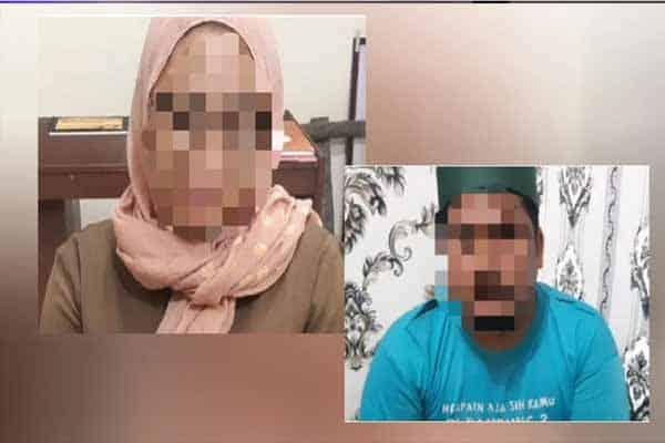 Ibu tunggal kantoi ditahan bersama imam