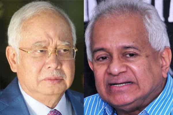 Panas!!! Najib tuntut ganti rugi RM10 juta daripada Tommy Thomas
