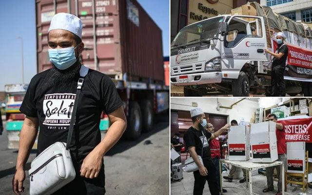 Misi bantuan gaza berjalan lancar, Ustaz Ebit dalam perjalanan pulang