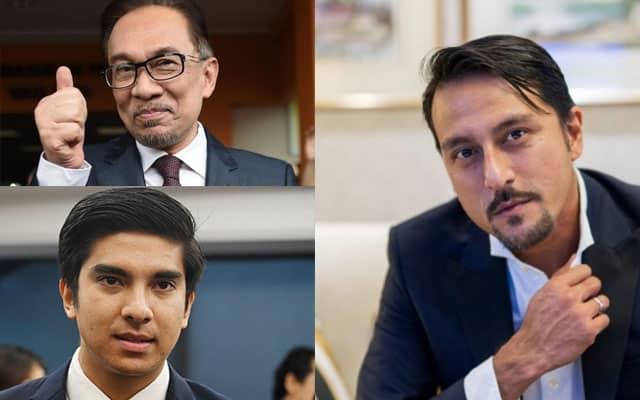 Kritikan Bront Palarae mendapat maklum balas Anwar Ibrahim & Syed Saddiq