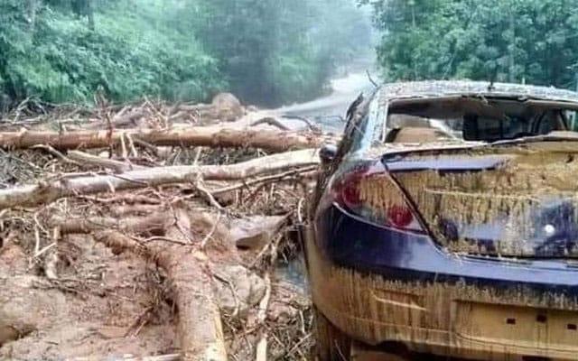Aktivis dedah punca bencana banjir di Gunung Jerai