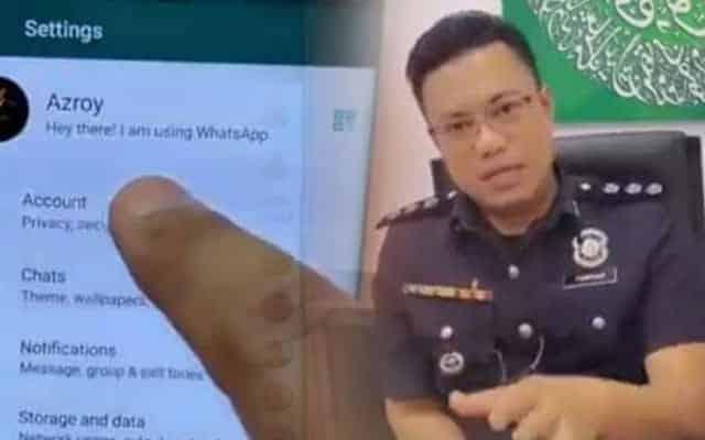 Pegawai polis ini tunjuk cara elak whatsapp kena hack scammer