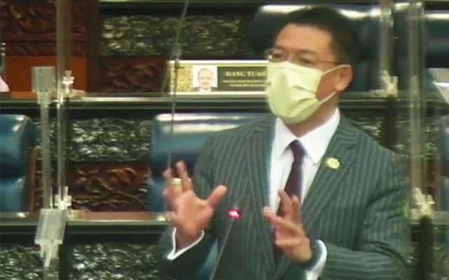 Panas !!! Nga Kor Ming disekat Menteri Kanan pengerusikan sidang rakyat