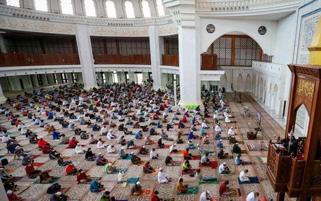 Akhirnya, Selangor benarkan 1000 jemaah bersolat Jumaat