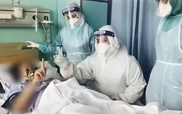 Tular video pesakit covid-19 mahu masuk Islam sebelum ditidurkan