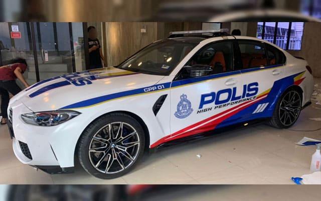BMW M3 bakal jadi kenderaan rasmi PDRM?