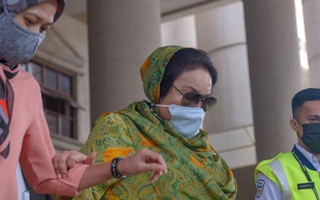 Rosmah menangis ketika perbicaraan mahkamah, dakwa dianiaya