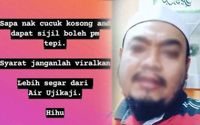 Ustaz 'Aswaja' promosi cucuk vaksin 'kosong' dan sijil palsu, netizen mahu tindakan diambil
